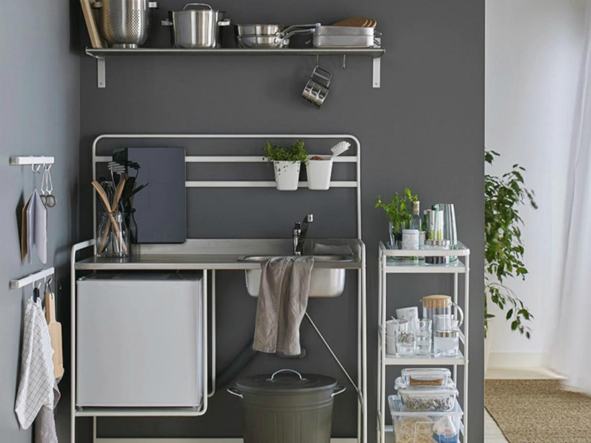Sunnersta cucina con piastra ad induzione IkeaThe Blog Post