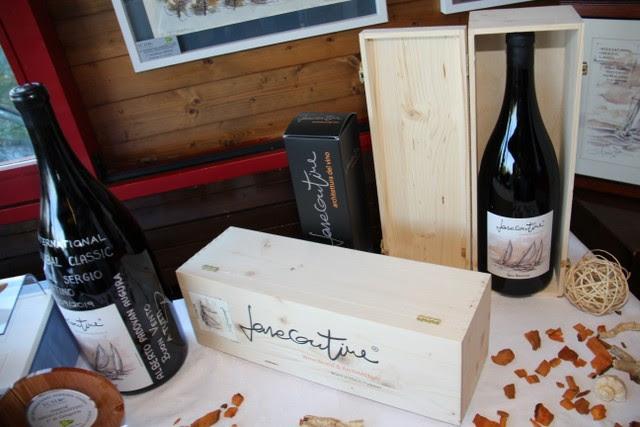 L'etichetta Sea Breeze di Farecantine WineWorld & Architecture - Brand of Alberto Padovan